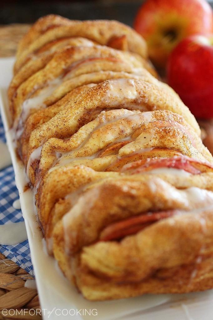 Apple Pie Pullapart Bread