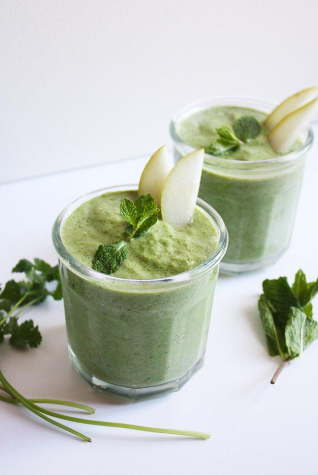 Pear-Herb-Smoothie-Step-4